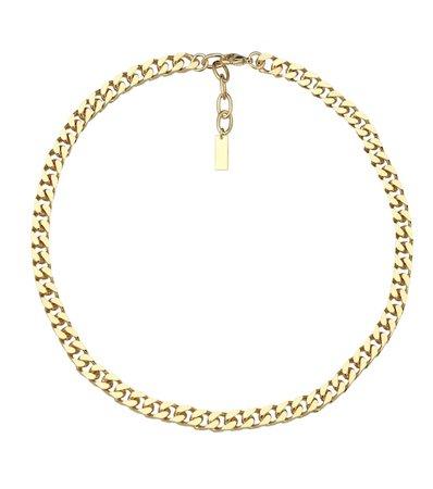 Saint Laurent - Brass necklace | Mytheresa