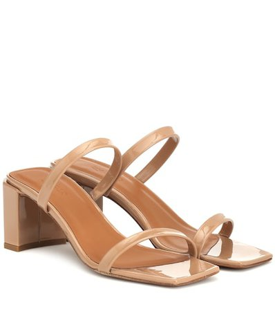 Tanya patent leather sandals