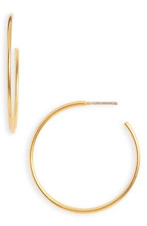 Madewell Medium Hoop Earrings | Nordstrom
