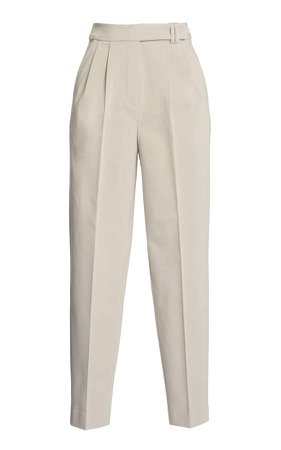Piece of White Camille High-Rise Straight-Leg Pants