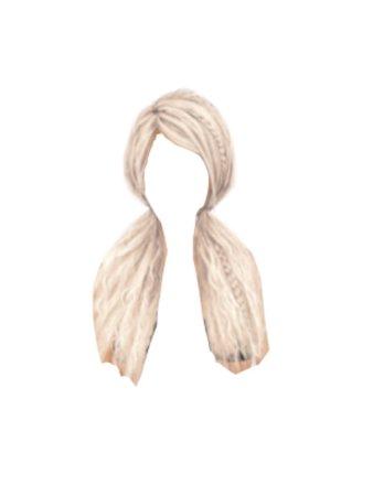 Blonde Pigtails