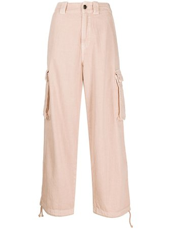 Semicouture cropped cargo trousers - FARFETCH