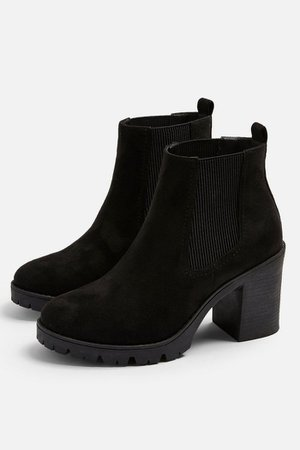 BYRON Black Unit Boots | Topshop