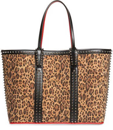 Cabata Leopard Print Tote