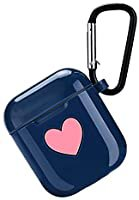 Amazon.com: Logee Sweet Heart Case for Airpods 1 & 2 Charging Case,Cute Silicone 3D Cartoon Airpod Cover,Soft Protective Accessories Kits Skin with Carabiner,Character Cases for Kids Teens Girls(Air pods): Home Audio & Theater