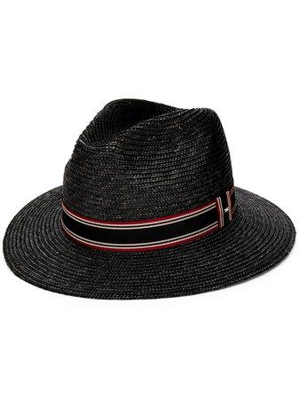 Saint Laurent Panama Hat 6087594YB83 Black | Farfetch