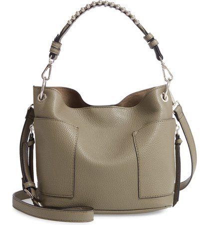 Steve Madden Studded Faux Leather Hobo | Nordstrom