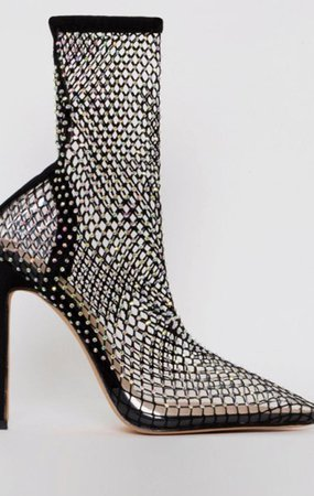 netted heels