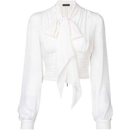 Plein Sud bow detail blouse