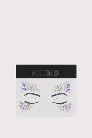 Face Decorations - Pink