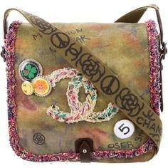 Pinterest - Chanel Spring 2015 Graffiti Messenger Bag