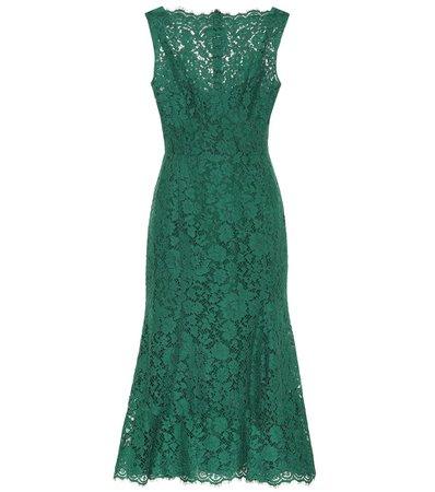 Lace Midi Dress   Dolce & Gabbana - Mytheresa