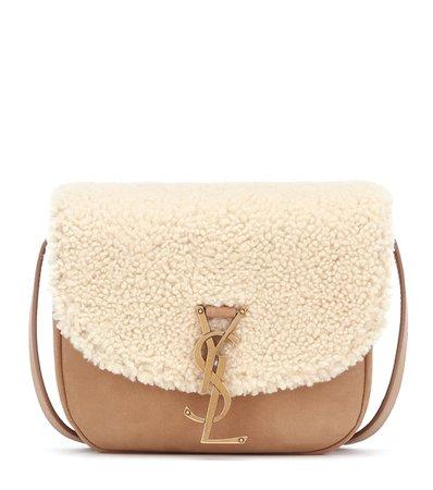 Kaia Medium Shearling Crossbody Bag | Saint Laurent - Mytheresa