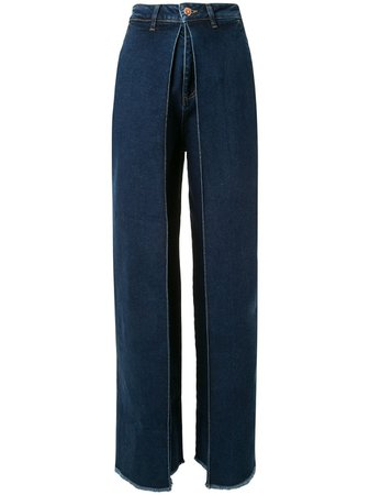 Aalto Jeans Anchos Con Tiro Alto - Farfetch