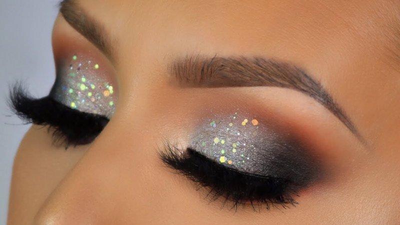 silver eyeshadow looks