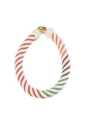 Bead Embellished Necklace Gr. One Size