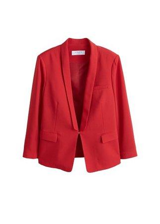 Violeta BY MANGO Flowy suit blazer