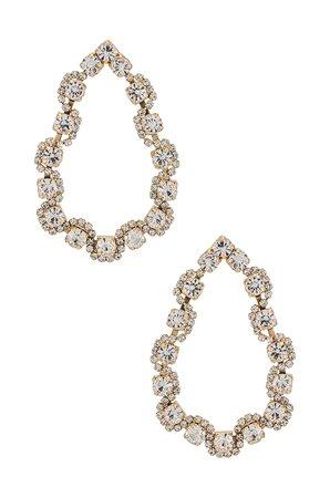 MEADOWE Ariana Earrings in Gold   REVOLVE
