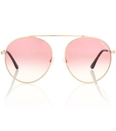 Simone aviator sunglasses