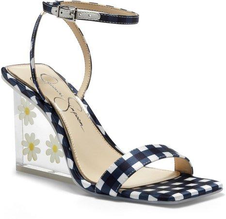 Aysie Ankle Strap Wedge Sandal