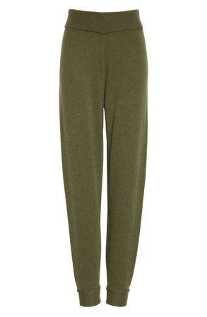 Theory Whipstitch Detail Cashmere Jogger Pants | Nordstrom