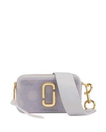 Marc Jacobs The Jelly Glitter Snapshot Crossbody Bag