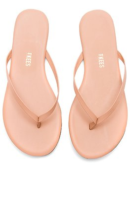 TKEES Foundations Flip Flops in Nude Beach | REVOLVE