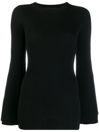 ERIKA CAVALLINI   Knitwear   Sweaters   Filippo Wool Sweater   Black   Tessabit Shop Online