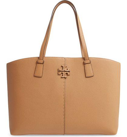 Tory Burch McGraw Leather Tote   Nordstrom