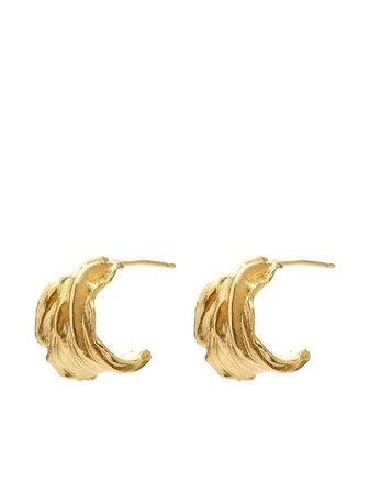 Anni Lu Ripcurl Hoop Earrings - Farfetch
