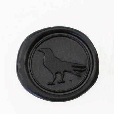 black wax stamp raven - Google Search