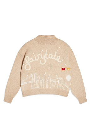 Topshop Fairytale High Neck Sweater | Nordstrom