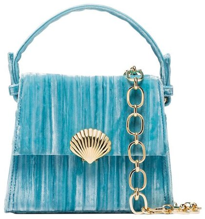 Jemima velvet mini-bag
