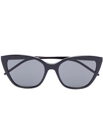 Saint Laurent Eyewear SLM69 cat-eye Frame Sunglasses - Farfetch