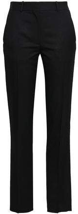 Wool-twill Straight-leg Pants