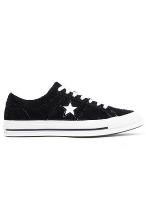 Converse | One Star Ox cutout suede sneakers | NET-A-PORTER.COM