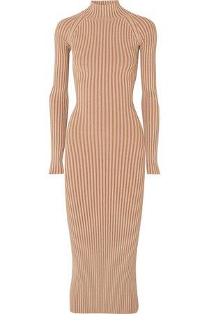Dion Lee   Cutout ribbed-knit midi dress   NET-A-PORTER.COM