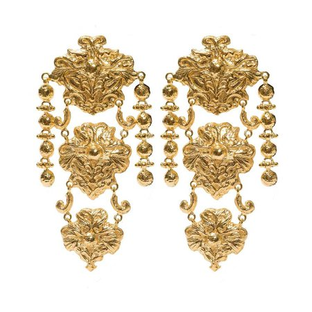 Cecile Earrings Gold | Christie Nicolaides