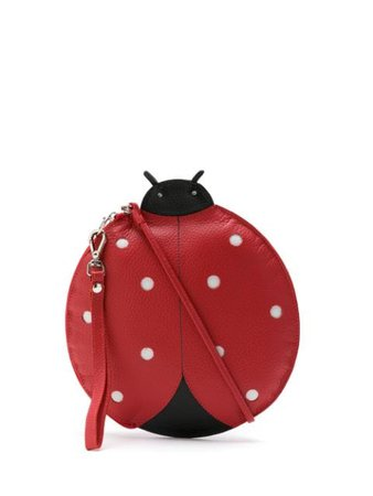 Sarah Chofakian Leather Joaninha Shoulder Bag - Farfetch