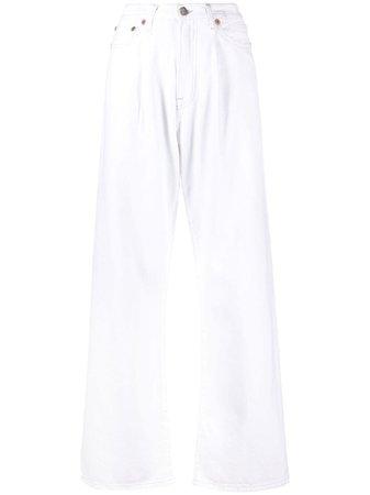 R13 wide-leg Jeans - Farfetch