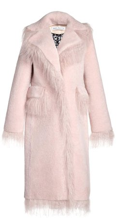 Saks Potts Jimy Shearling Coat
