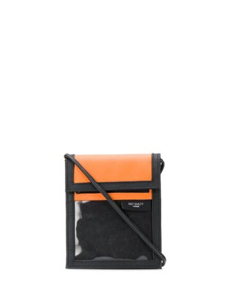 Not Guilty Homme Touch Strap Crossbody Bag 01AC0104 Orange | Farfetch