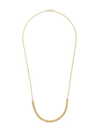 Shop gold Bottega Veneta ring detail necklace with Express Delivery - Farfetch