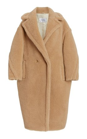 Camelhair And Silk-Blend Teddy Coat By Max Mara | Moda Operandi