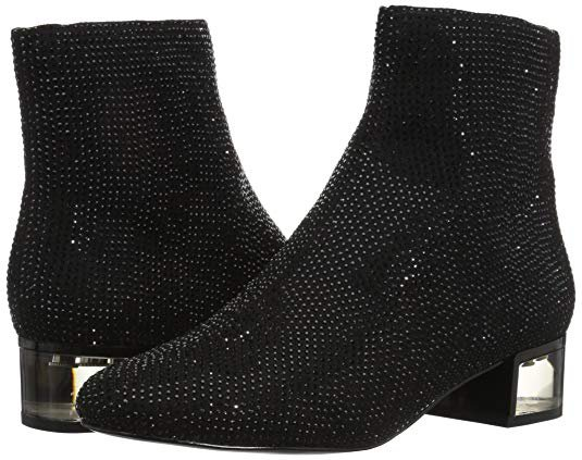 Amazon.com | ALDO Women's Sparkle Ankle Bootie | Ankle & Bootie