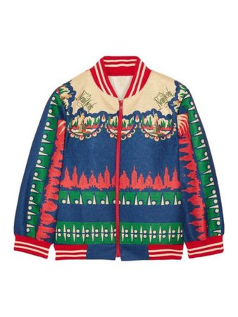 Anna Sui Bomber Jacket