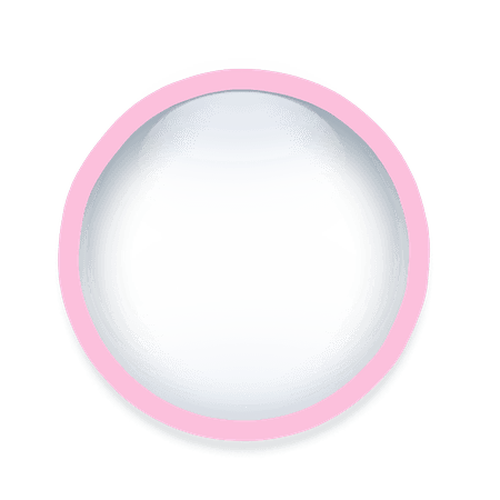 round freetoedit pink circle frame border geometric geo...