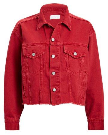 Boyish Jeans | The Harvey Scarlet Empress Denim Jacket | INTERMIX®