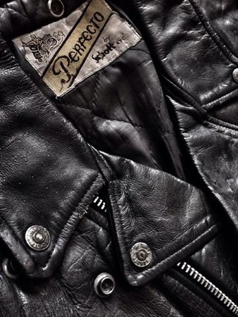 Leather Jacket Aesthetic