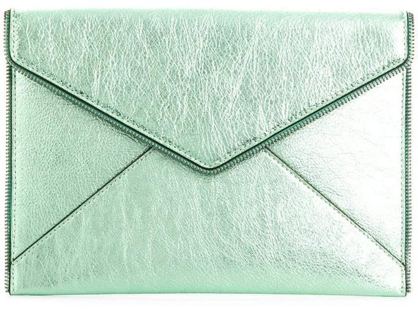 envelope shaped clutch